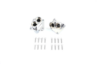 V-Twin 10-0095 - Chrome Tappet Block Set