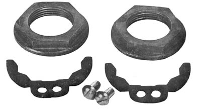 V-Twin 10-0335 - Crank Pin Nut and Lock Kit