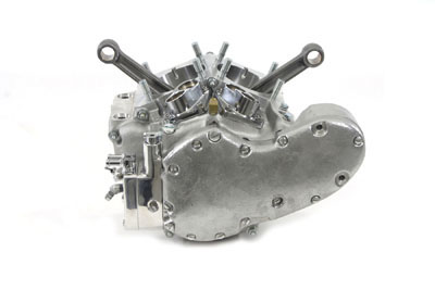 "V-TWIN SHORT BLOCK, 74"" VTWIN 10-1991"