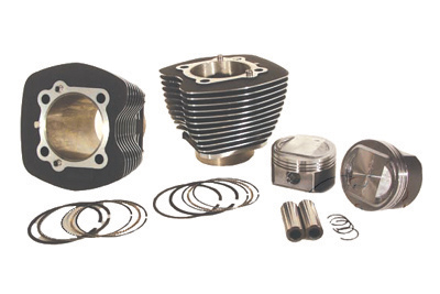 "V-Twin 11-0074 - 95"" Big Bore Black Cylinder Kit"