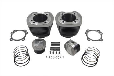 "V-Twin 11-0075 - 95"" Big Bore Twin Cam Cylinder and Piston Kit"