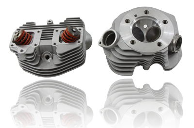 V-Twin 11-0089 - Replica Shovelhead Cylinder Head Set