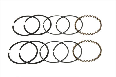 "V-Twin 11-0180 - 74"" FLH Piston Ring Set .040 Oversize"