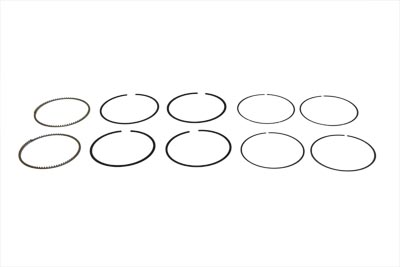 "V-Twin 11-0291 - 107"" Twin Cam Piston Ring Set Standard"