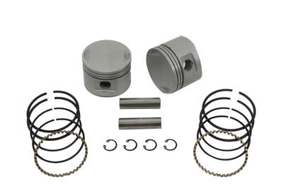"V-Twin 11-0293 - 80"" Evolution Piston Kit .010 Oversize"