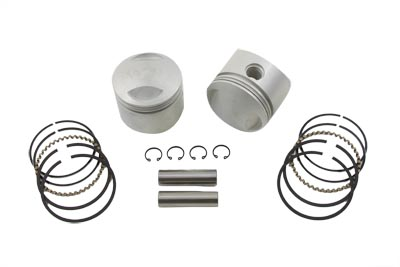 "V-Twin 11-0317 - Standard Size 80"" Overhead Valve Piston Set"