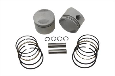 "V-Twin 11-0321 - 80"" Overhead Valve Piston Set .040 Oversize"