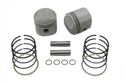 "V-Twin 11-0322 - 74"" Overhead Valve Piston Set Standard Size"