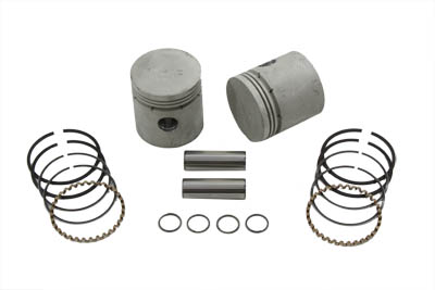 V-Twin 11-0407 - Piston Kit .070 Oversize