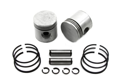"V-Twin 11-0420 - 3-5/16"" Piston Set .050 Oversize"