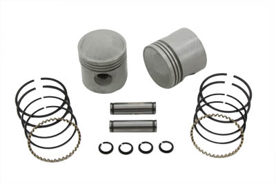 "V-Twin 11-0439 - 3-5/16"" Piston Kit .080 Oversize"