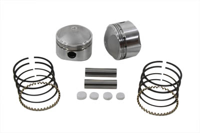 "V-Twin 11-0461 - 74"" Overhead Valve Forged Piston Set .060 Overs"