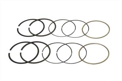 "V-Twin 11-0859 - 3-5/8"" Piston Ring Set Standard"