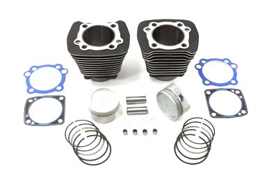 V-Twin 11-1105 - 1200cc Cylinder and Piston Conversion Kit Black