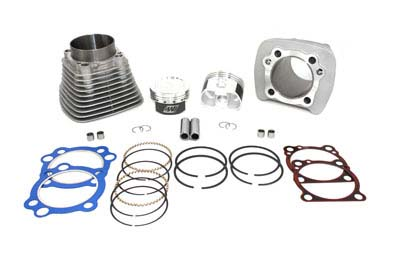 CYLINDER PISTON KIT, .005 SILVER VTWIN 11-1115
