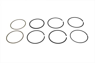 "V-Twin 11-1401 - 4-1/8"" Piston Ring Set .010 Oversize"