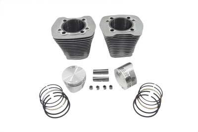 "V-Twin 11-1513 - 88"" Evolution Big Bore Cylinder Kit Silver"
