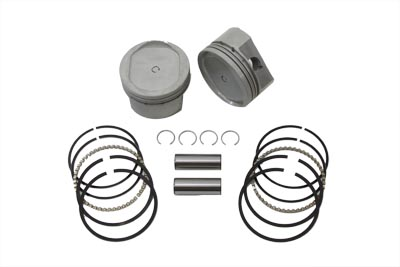 V-Twin 11-1680 - 883cc Conversion Piston Set Standard 3.498""