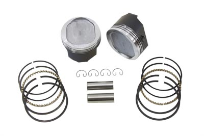 V-Twin 11-1700 - 883cc Conversion Piston Set .005 Oversize