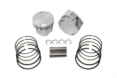 "V-Twin 11-1709 - 3-5/8"" Piston Set Standard Size"