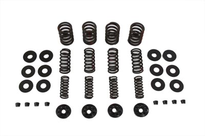 S&S VALVE SPRING KIT WITH STEEL COLLARS VTWIN 11-2077