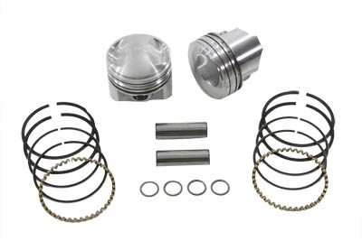 KEITH BLACK 9.0:1 PISTON SET .005 VTWIN 11-2201