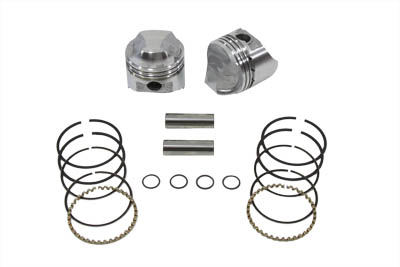 KEITH BLACK 8.2 PISTON SET, .010 VTWIN 11-2241