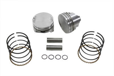 KEITH BLACK 8.9:1 PISTON SET, STANDARD VTWIN 11-2245