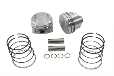 KEITH BLACK 8.3:1 PISTON SET, .005 VTWIN 11-2252