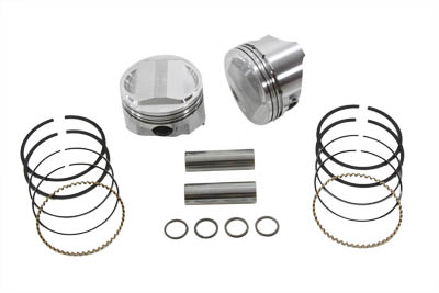 KEITH BLACK 10.6:1 PISTON SET, .005 VTWIN 11-2270