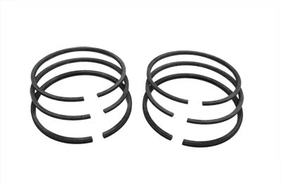 PISTON RING SET, .010 OVERSIZE VTWIN 11-2546