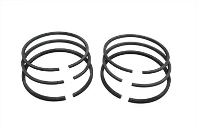 PISTON RING SET, .080 OVERSIZE VTWIN 11-2554