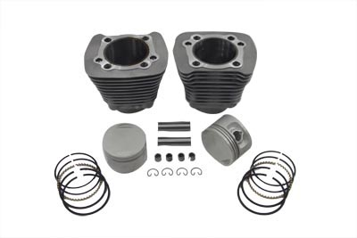 CYLINDER PISTON KIT 9:1, SILVER VTWIN 11-2609