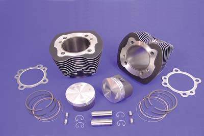 BIG BORE CYLINDER KIT WITH MOLY COATED VTWIN 11-2615