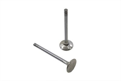 EXHAUST VALVES, STAINLESS STEEL VTWIN 11-9083