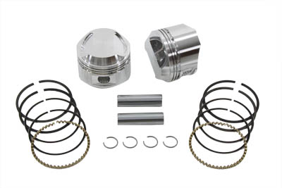 "WISECO PISTON KIT, 3-1/2"" BORE X .020 VTWIN 11-9446"