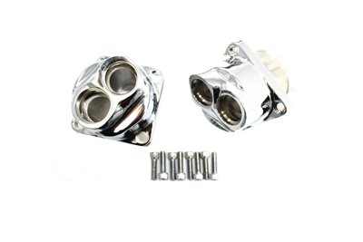 TAPPET BLOCK SET, CHROME VTWIN 11-9506
