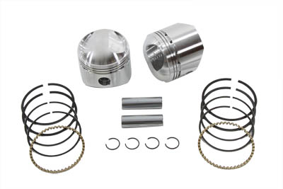 "WISECO PISTON KIT, .080, 3-7/16"" BORE VTWIN 11-9732"