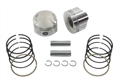 "WISECO PISTON KIT,STANDARD, 3-1/2"" BORE VTWIN 11-9733"
