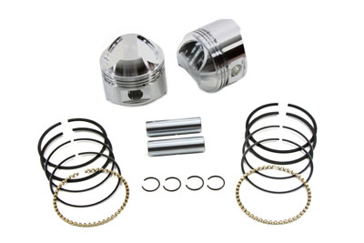 "WISECO PISTON KIT, .030, 3 1/2"" BORE VTWIN 11-9741"