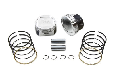 "WISECO PISTON KIT, .010, 3-1/2"" BORE VTWIN 11-9847"