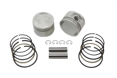 REPLICA 1200CC PISTON SET .005 OVER SIZE VTWIN 11-9849