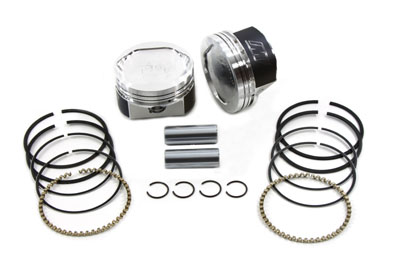 "WISECO PISTON KIT, .020, 3-1/2"" BORE VTWIN 11-9887"