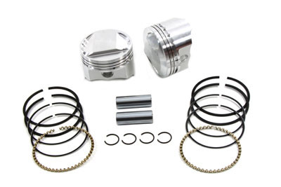 "88"" BIG BORE WISECO FLAT TOP PISTON KIT VTWIN 11-9903"