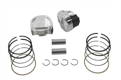 HIGH COMPRESSION WISECO DOMED PISTON KIT VTWIN 11-9928