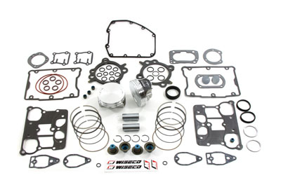 PISTON KIT .010, WITH 9:1 COMPRESSION VTWIN 11-9940