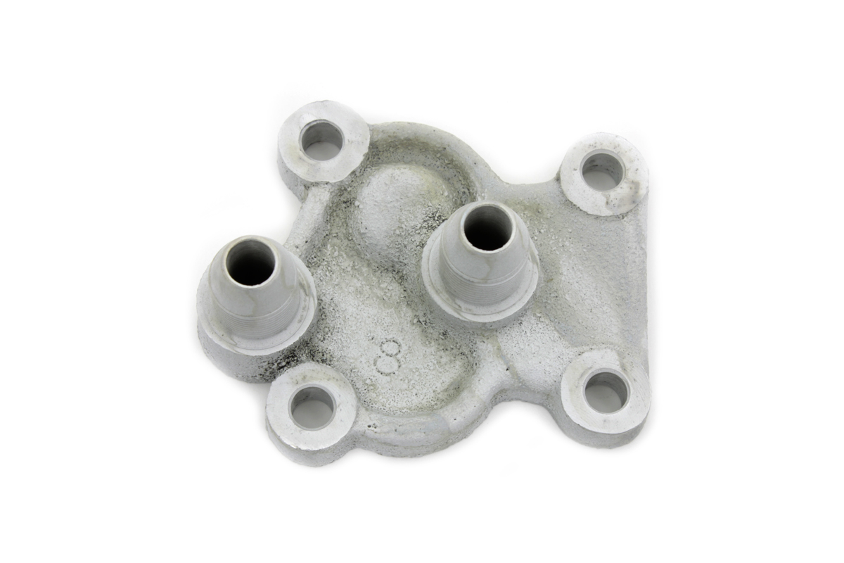 REPLICA OIL PUMP COVER, CADMIUM VTWIN 12-1545