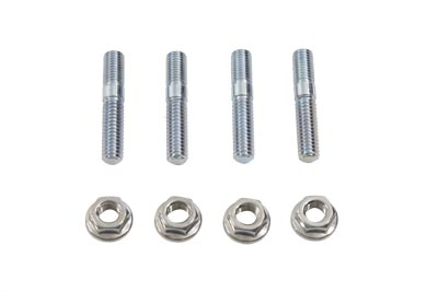 EXHAUST STUD WITH STAINLESS STEEL VTWIN 12-2125