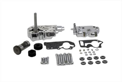 SIFTON OIL PUMP BREATHER KIT, CHROME VTWIN 12-9801