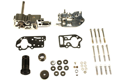 SIFTON OIL PUMP ASSEMBLY, CHROME VTWIN 12-9803
